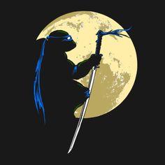 Leonardo moon silhouette
