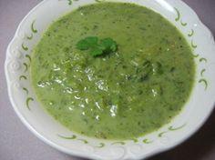 Garden Fresh Pea Soup...easy peazy!