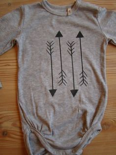 Arrows (Vertical) Onesie - White. $20.00, via Etsy.