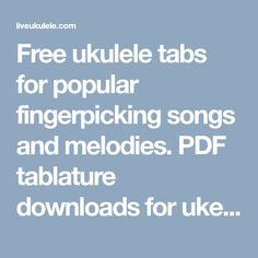 Ukulele Fingerpicking Patterns | ukulele | Ukulele