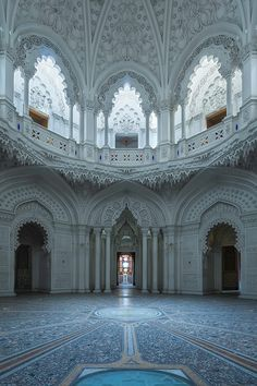 Sammezzano, or the Castle of Sammezzano, is an Italian palazzo in Tuscany notable for its Moorish Revival architectural style. It is located in Leccio, a hamlet of Reggello, in the Province of Florence