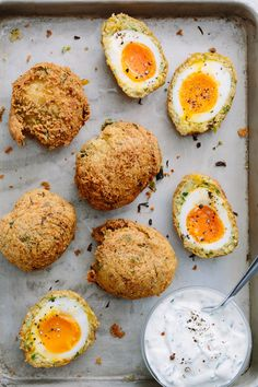 Recipe: Falafel Scotch Eggs — Brunch Recipes from The Kitchn