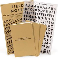 Field Notes Dry Transfer Limited Edition