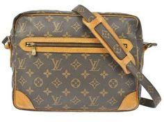 Louis Vuitton Monogram Cross Body Bag $360