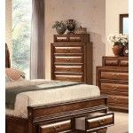 Acme Furniture - Konance Brown Cherry Finish Bedroom Chest - 20459  SPECIAL PRICE: $570.50