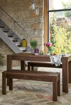 Kendall Dining Table And Bench Set From The Next Uk Online