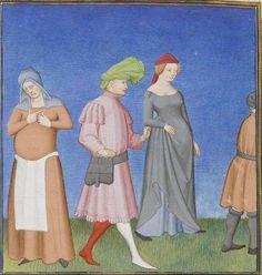 Publius Terencius Afer, Comoediae [comédies de Térence] ca. 1411; Bibliothèque de l'Arsenal, Ms-664 réserve, 78v