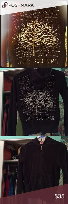Original juicy couture track jacket I have a million of these track jackets. Sad that they don't make these anymore ! But have lots of size smalls to sell. They are so cute and comfy ! Juicy Couture Tops Sweatshirts & Hoodies