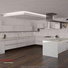 Diseño Cocina Integral. Diseños a la medida.
