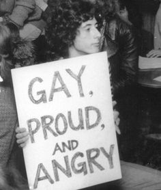 LGBT HISTORY ARCHIVES IG:@lgbt_history Carnal, Lgbt History, Gay Aesthetic, Riot Grrrl, Protest Signs, Power To The People, Equality, Feminism, Gay Pride