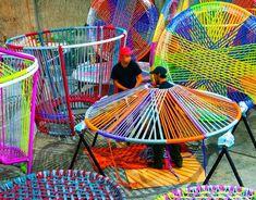 5osA: [오사] :: *형형색색 나무팽이, 커뮤니티를 위한 스트리트퍼니쳐로 [ Esrawe + Cadena ] Los Trompos (Spinning Tops)