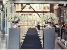 A wedding ceremony set up at the Turbine Hall foyer - images by Tyme photography Turbine Hall, Foyer, Venus, South Africa, Wedding Ceremony, Wedding Ideas, Table Decorations, Weddings, Photography