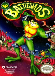 Battle Toads nes game