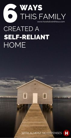 What if we could all have a house that had zero expenses? No electricity bill to pay, no water bill, no gas bill. Wouldn't that be the dream. This is about how a family created an almost self-reliant home. www.howtoliveintheus.com