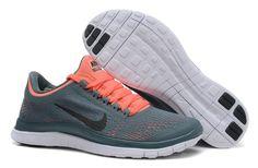 Womens Armory Slate Black Atomic Pink White Nike Free 3.0 V5 Running Shoes