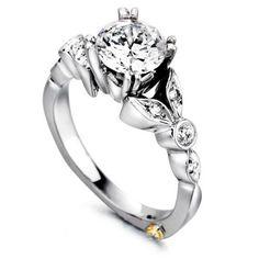 """Reminiscent"" Semi-Mount Ring by Mark Schneider | Spectrum Fine Jewelry"