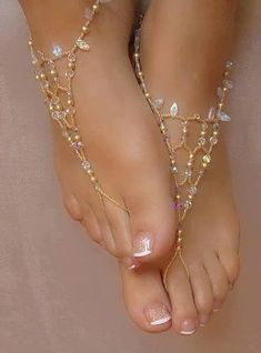 foot jewelery.. so pretty