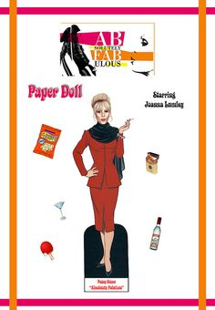 AbFab Patsy Stone Paper Doll by trev2005, via Flickr