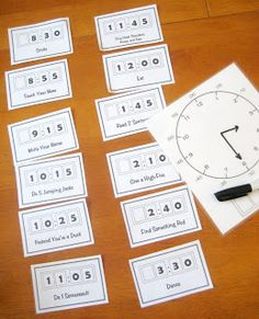 Teaching Telling Time activity!  Its a fun way to practice time telling with this FREEbie!