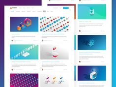 Some of our header designs in the wild over on the moltin blog