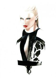 Fashion Illustrations by Antonio Soares | Cuded