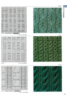 Knitting patterns book 300 - Ewa P - Álbumes web de Picasa