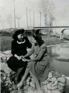 Montcada i Reixac-2. Barcelona. 5 fotos de los años 40s (Fotografía Antigua - Gelatinobromuro)