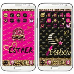 """""""Screenies of earlier this week: #Juicy #golauncher #theme and #custom #walls by my boo #Gabbell #iPhonemizee @gabbell_iphonemizee and #beweather sets by…"""""""