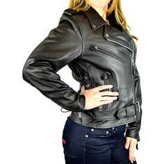 Special Offers - Womens Classic Biker Leather Jacket 4XL - In stock & Free Shipping. You can save more money! Check It (August 07 2016 at 02:15AM) >> http://motorcyclejacketusa.net/womens-classic-biker-leather-jacket-4xl/