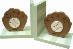 Baseball Bookends and decor at Jack and Jill Boutique