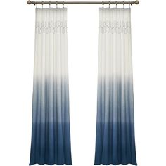 Arashi Single Curtain Panel Reviews (68 CAD) ❤ liked on Polyvore featuring home, home decor, window treatments y curtains