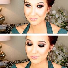 """Jaclyn Hill chose to use #ESQIDO lashes in """"Amp It Up"""" to create this sultry smokey prom look. It is absolutely stunning and is perfect for a night full of photos. #prom #jaclynhill"""