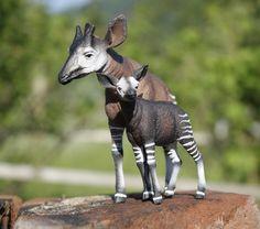 Okapi (CollectA Wildlife) - Animal Toy Forum