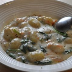 Olive Garden Chicken Gnocchi Soup - copy cat recipe