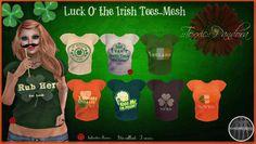 ::Toxxic:: Pandora Luck of the Irish Women's Mesh Tees