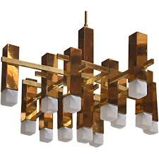 70'S INSPIRED BRASS CHANDELIERS - Google Search