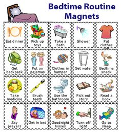 Find out how capable your kids are with this Magnetic Checklist from The Trip Clip. Perfect for setting up a morning routine, an after school checklist, a bedtime routine, or a chore chart. You can even easily print your own magnets! Toddler Routine Chart, Bedtime Routine Chart, Daily Routine Chart For Kids, Morning Routine Kids, Morning Routine Chart, Babysitting Activities, Toddler Activities, Toddler Chores, Kinder Routine-chart