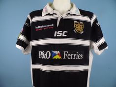 Authentic Hull FC 2011 Rugby Shirt Size XXL Super League