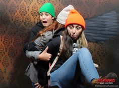 The moment you fill your pants at Nightmares Fear Factory, Niagara Falls.