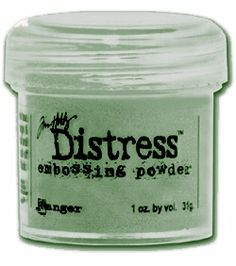 Ranger Ink - Tim Holtz - Distress Embossing Powder - Old Paper Polymer Clay Tools, Polymer Clay Projects, Polymer Clay Beads, Clay Crafts, Tim Holtz Distress Ink, Scrapbooking, Ranger Ink, Embossing Powder, Broken China