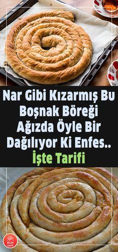 Evinizde kolayca yapabileceğiniz boşnak böreği, çay saatlerinize çok yakışacak. Bosna Hersek'in asırlık lezzeti olan boşnak böreğini dilerseniz patateslide yapabilirsiniz. Ancak gerçeği kıymalı olan boşnak böreğini bu şekilde tüketmenizi tavsiye ederiz. İşte kıymalı boşnak böreği tarifi... #börek #tarif #tarifler #kıymalı #mutfak #kadın #kolay Ham, Yogurt, Food And Drink, Pizza, Beef, Recipes, Snacks, Entrance Halls, Recipe