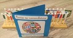 Il y a quelque temps j'ai fait l'acquisition du planisphère du monde avec les drapeaux dont je vous ai déjà parlé dans cet article-ci . C...