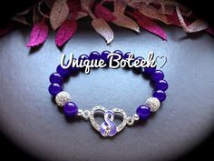 Items Similar To All Cancers Awareness Or Pancreatic Leiomyosarcoma Bracelet Check Out My Other New Listings On Etsy