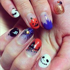 Halloween Nailart Halloween Nailart #halloween #nailart