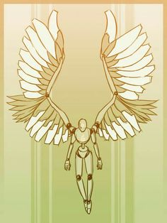 Wings, body; How to Draw Manga/Anime