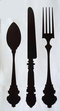 colher, faca e garfo