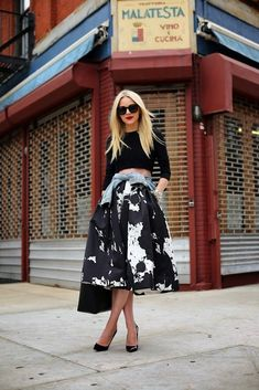 One of our favorite bloggers shows how to perfectly rock a midi.