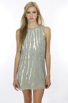 parker sequin tank dress-- love this although if I wore it you would most definitely see buttcheek