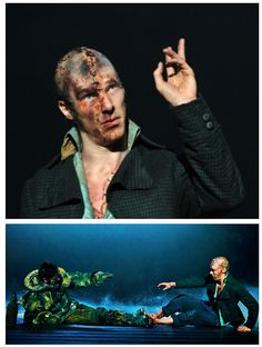 benedict cumberbatch as the creature in frankenstein the play | Tumblr