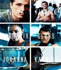 TheHugerGames- Tributes catching fire.-